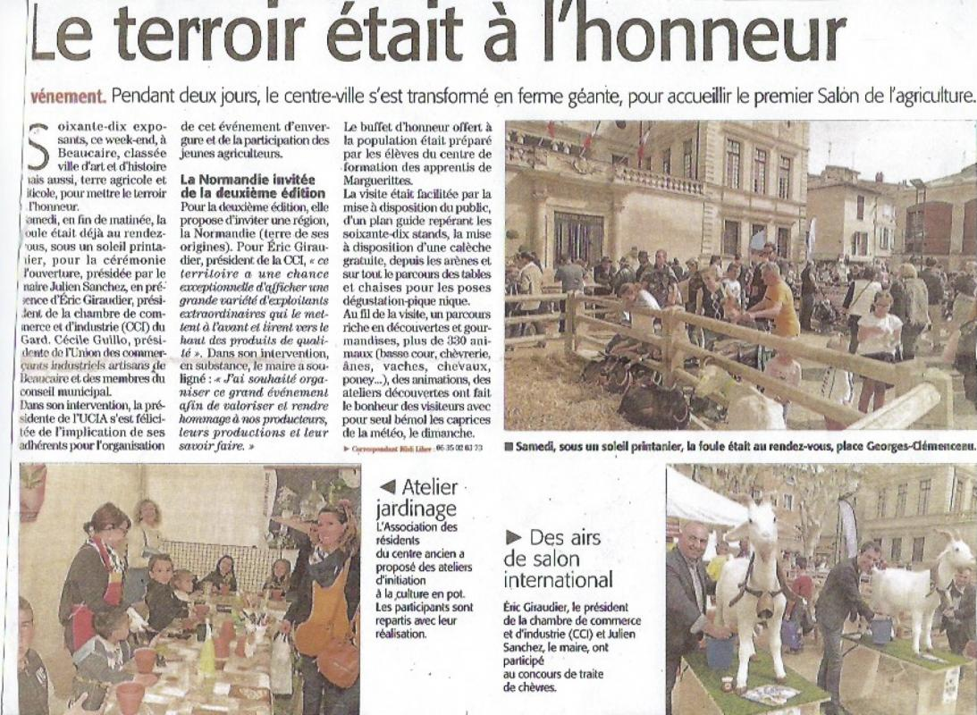 Article journal beaucaire 2018 jpeg